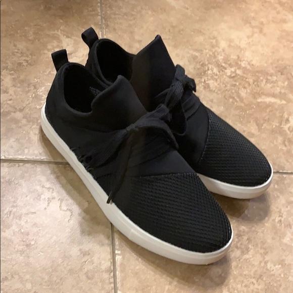 Payless Brash Black Tennis Shoes